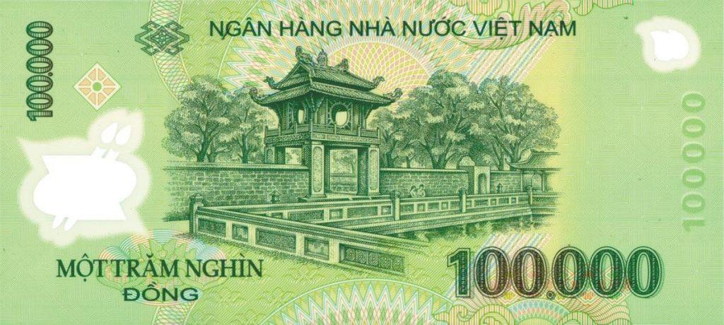Mơ thấy tiền 100 nghìn